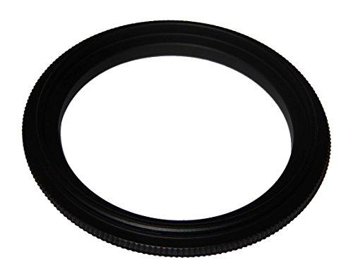 vhbw Step UP Filter-Adapter 49mm-55mm schwarz für Kamera Canon Casio Pentax Olympus Panasonic Sony Nikon Ricoh Sigma Tamron Samsung Agfa Minolta Kodak