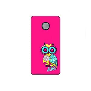 Vibhar printed case back cover for Microsoft Lumia 540 PinkOwl