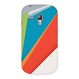 HexCol Pattern Multicolor Back Case Cover for Galaxy S3 Mini