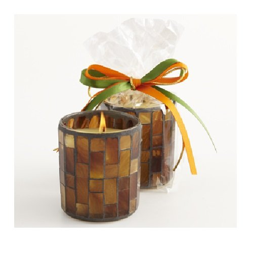 Aromatique Orange & Evergreen Mosaic Candle