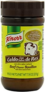 Knorr Mexican Bouillon Granulated, Beef, 7.9-Ounce Containers (Pack of 12)
