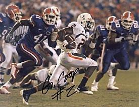 Graig Cooper Autographed Football 8x10 Photo - Autographed Footballs