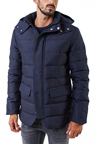 Billtornade -  Cappotto  - Uomo blu Large