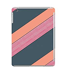 EPICCASE pink and grey Mobile Back Case Cover For Apple Ipad Mini 2 (Designer Case)