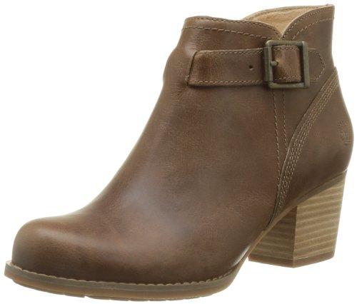 Timberland Womens EK Birchmont Side Zip Buckle Boots C8815R Dark Tan 6 UK, 39 EU, 8 US, Wide