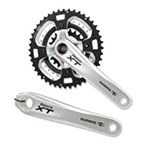 Shimano J383Deore XT Hollowtech II 9 Speed Mountain Bike Crank Set (170mm X 22/32/44)