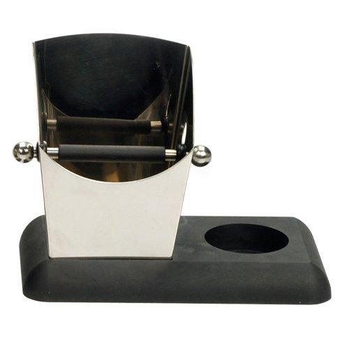 Espresso Knock Box & Tamper Ready Base Stainless Steel (Espresso Tamper Box compare prices)