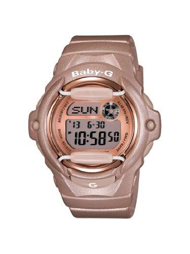 Casio Women'S Bg169G-4 Baby G Pink Champaign Watch front-1022398