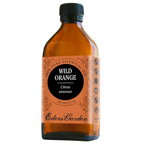 Wild Orange 100% Pure Therapeutic Grade Essential Oil by Edens Garden- 250 ml