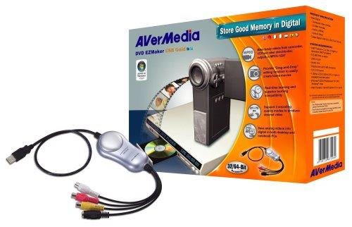 AVerMedia MEZUSBGDR DVD EZMaker USB Gold