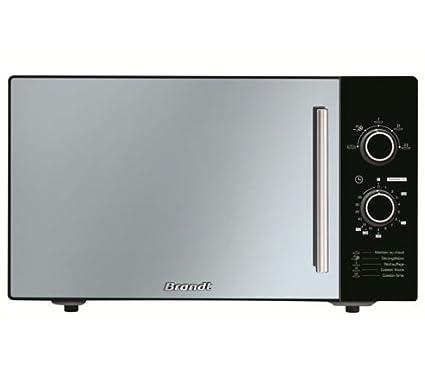 Brandt - sm2603b - Micro-ondes 26l 900w noir miroir