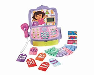 Fisher-Price Dora The Explorer Shopping Adventure Cash Register