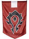 Cosplaywho World of Warcraft Horde Banner Flag