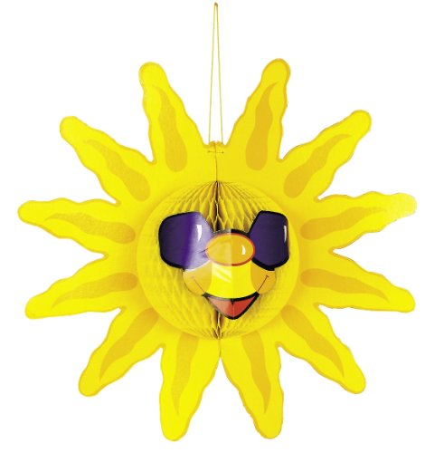 Tissue Sun Decoration