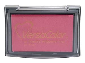 Tsukineko Full-Size VersaColor Ultimate Pigment Inkpad, Pink by Tsukineko