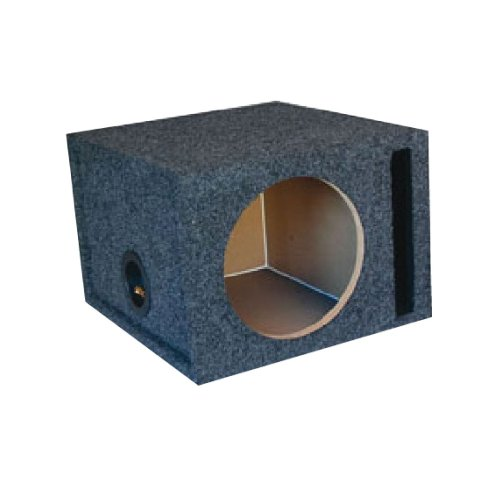 "Audiotek 10"" Speaker Boxes Single Port For Cvx, Cvt, Cvr, Comp 10, P3, P2, P1, R1, R2, Mtx, Infiniti, Sony, Jl, Jbl, Alpine, Pioneer, Kenwood, Kicker Subwoofers!"