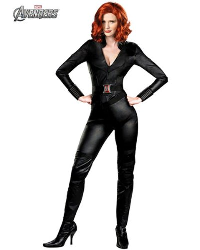 Black Widow - Avengers Adult Costume Size X-Large (16-20)