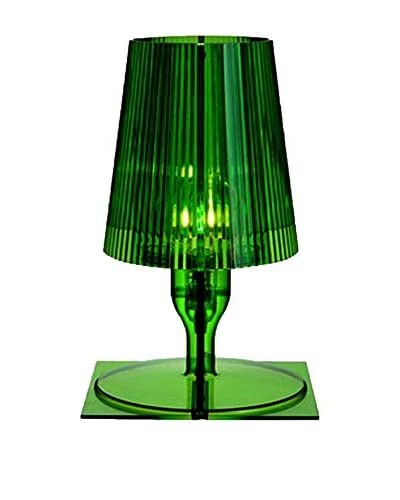 Kartell Lámpara De Mesa Take Verde 18,5 X 17,5 cm H: 30 cm