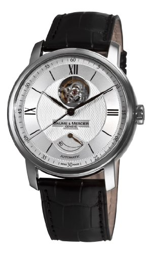 baume-et-mercier-classima-moa08869-gents-black-calfskin-automatic-watch