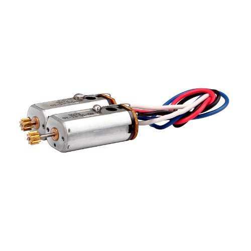 "Lower Blade Motor Set for Syma S34 Chinook 18"" 3ch 2.4g Heli - 1"