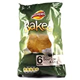 Walkers Baked Sour Cream and Chives Crisps 6 Pack 150g