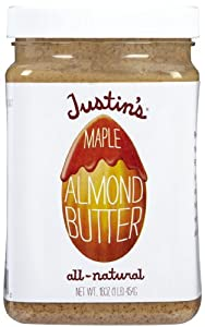 Justin's Nut Butter Maple Almond 16oz Jar
