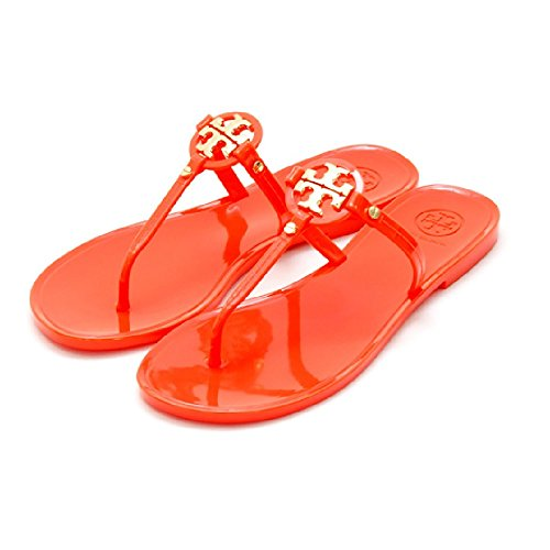 Tory Burch Mini Miller Jelly Thong Flat Sandal 8 (Tory Burch Jelly compare prices)