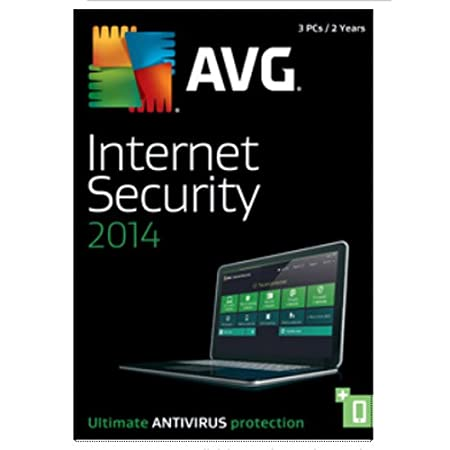 AVG INTERNET SECURITY 2014, 3 User 2 Year