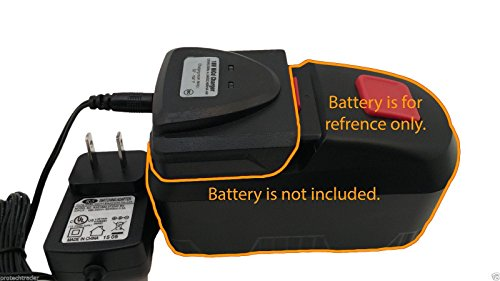 Drill Master 18v Battery Charger 68420 - New 2015 Automatic Charging System Charges 18 Volt DrillMaster Batteries 68413/69651/68287/68239/ (Drill Master 18 Volt Battery compare prices)