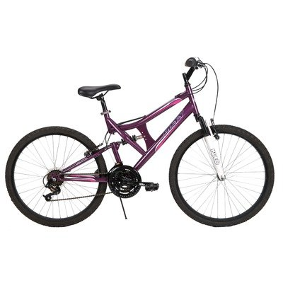 Huffy Women's DS-3 Bike (Purple Heart Metallic, Large/26-Inch)