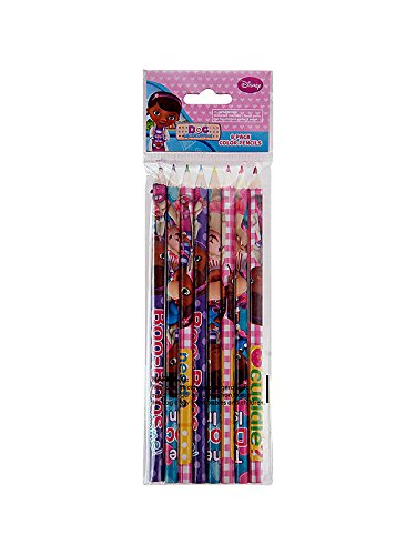 Disney Doc McStuffins Colored Pencils - 8pk