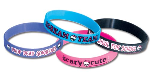 Monster High Rubber Bracelets - 1