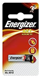 Energiser high voltage battery 27A from Energizer Batteries