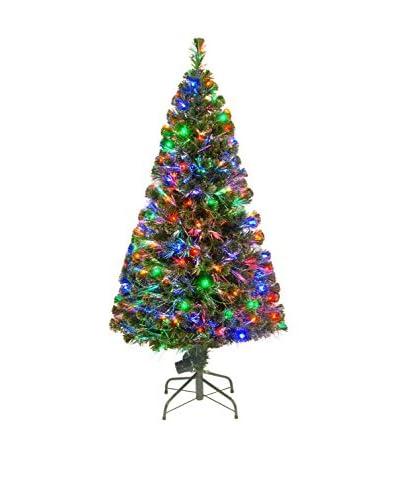 """National Tree Company 60"""" Fiber Optic """"Evergreen"""" Tree"""