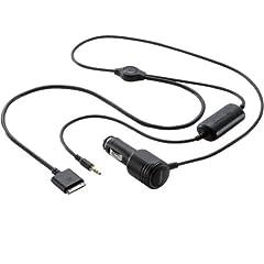 iPhone/iPod用シガーチャージャー付きオーディオケーブル[LHC-ACi01] - Logitec
