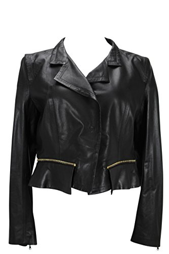 paule-ka-womens-jacket-size-6-us-42-it-regular-black-leather