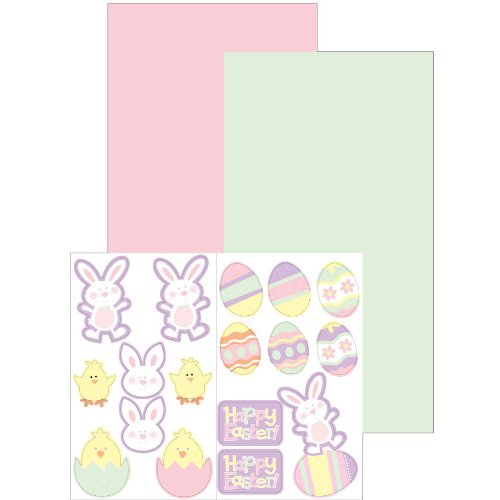 Creative Converting Create Your Own Easter Treat Bags, 6 Per Package