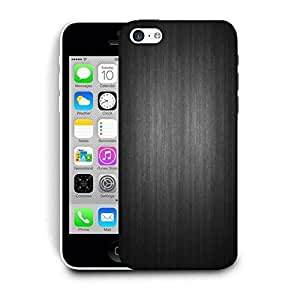 Snoogg Plain Black Printed Protective Phone Back Case Cover For Apple Iphone 6 / 6S