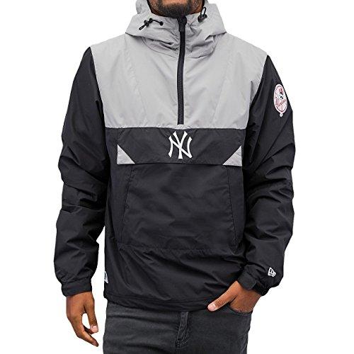 NEW ERA MLB ne90094fa16Smock Neyyan-chaqueta-línea New York Yankees per uomo, colore: blu, UOMO, Ne90094Fa16 Mlb Smock Neyyan, azul (navy), L