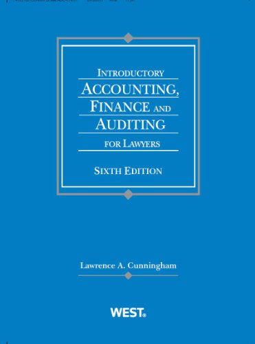 Pdf online introductory accounting finance and auditing for lawyers download pdf epub mobi kindle of introductory accounting finance and auditing for lawyers american casebook series fandeluxe Image collections