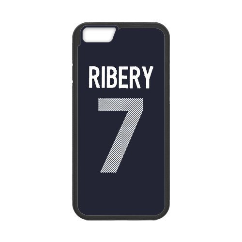 Artswow Franck Ribery 7 Custom Plastic TPU Cell Phone Case for iPhone 6 Plus 5.5 Inch