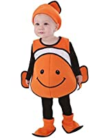 Totally Ghoul Clown Fish Vest Baby / Toddler Halloween Costume