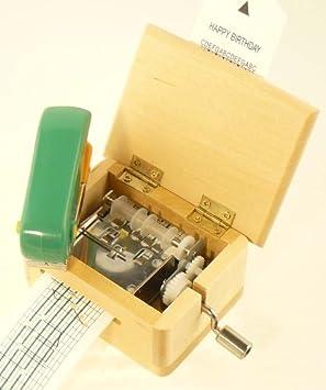 Fridolin - 59490 - Boîte à musique avec bande perforée