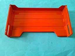 Eldon 1602-8 Stackable Legal Desk Tray Red