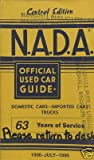NADA Used Car Guide - Central Edition - July, 1996