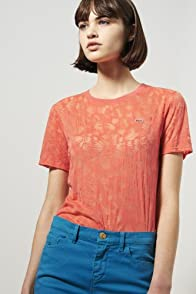 L!ve Short Sleeve Burnout T-shirt