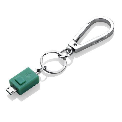 Simplism Micro-USBポート用カラビナ(セージ) TR-MUC-SA