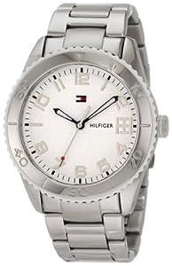 Tommy Hilfiger 1781145 - Reloj de pulsera mujer, acero inoxidable, color plateado
