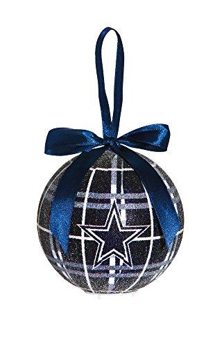 100mm LED Ball Ornament, Dallas Cowboys