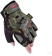 Military Full finger Fingerless Tactical Airsoft Hunting Riding Cycling Gloves